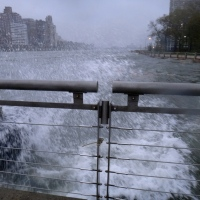 NYC is struck by Sandy.