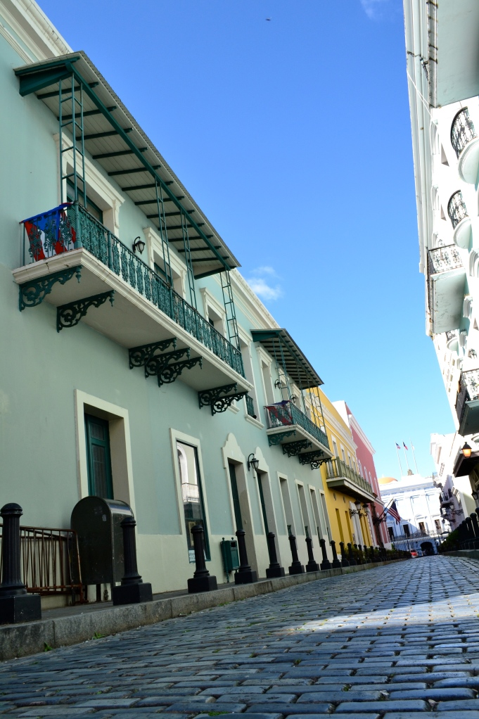 Love the colourful buildings - Old San Juan, PR
