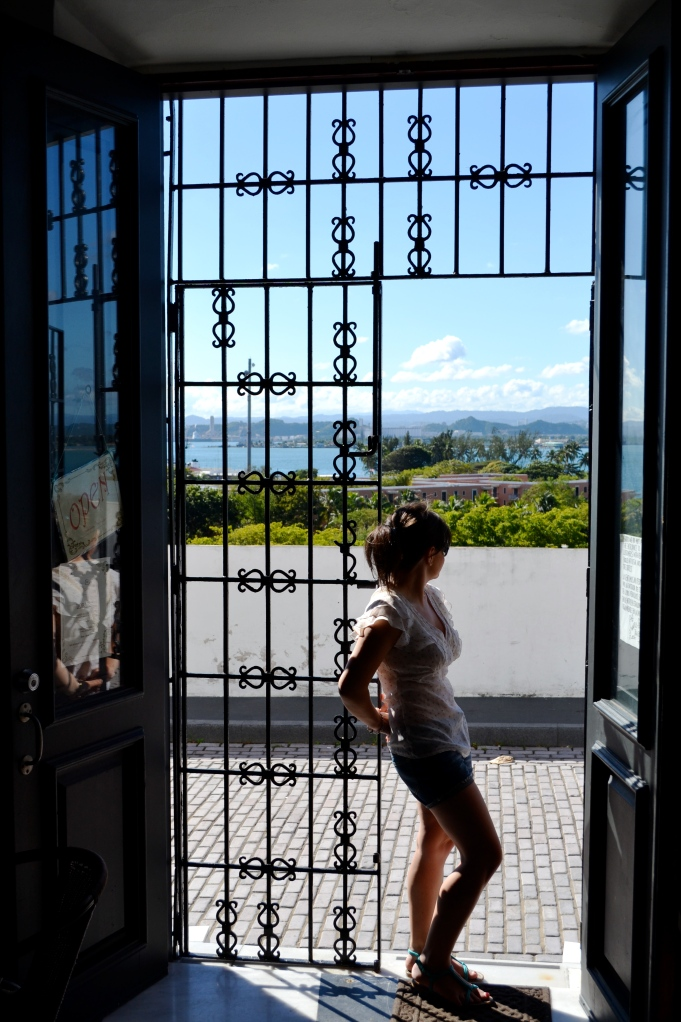 Old San Juan - breakfast with a view.