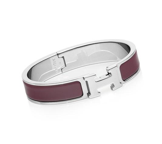 Hermès Purple - H Bracelet