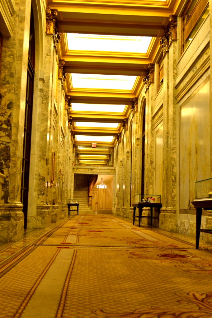 A Plaza Hallway